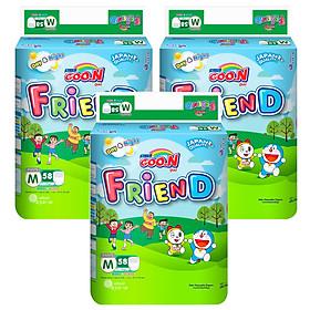 Combo 3 Tã Quần Goo.n Friend Gói Cực Đại M58 (58 Miếng)