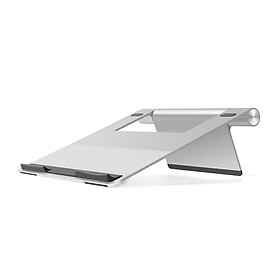 Đế dựng tản nhiệt Laptop, Tablet bằng nhôm - silver