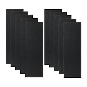 Set of 10  Grip Tape für Skateboard Longboard 840mm X 23mm Tape