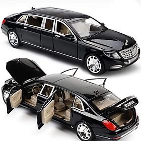 Mô hình xe XLG S600 Maybach Pullman 1:24 (Black)