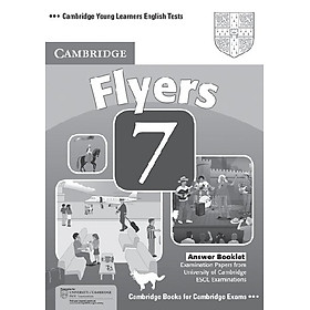 Cambridge Young Learners English Tests 7 Flyers Answer Booklet