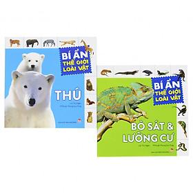 Sách Kiến thức - Bộ 2 cuốn - Bí ẩn thế giới loài vật