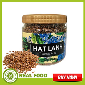 Hũ Hạt Lanh Real Food Store (400g)