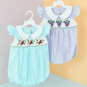 Bộ áo liền quần Melon Romper Chaiko House MR01