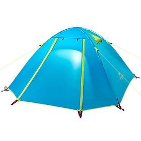 Lều Cắm Trại 2 Người Naturehike Có Mái Hiên,  Dòng P Series Trụ Nhôm - Xanh