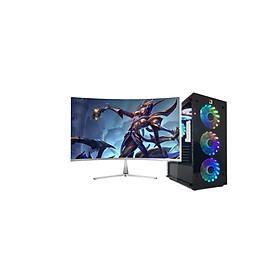 Máy tính Chuyên Game BN2 (H81/Core i5 - 4570 / 16G / SSD 120G) và Màn Hình 24 inch   - Hàng nhập khẩu