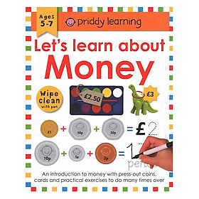 Wipe Clean Workbook Money
