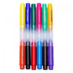 Bút Lông 2 Đầu Thiên Long FP-C01 (12 Màu)