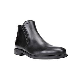 Giày Boots Nam GEOX U DUBLIN D SMOOTH LEATH. BLACK - Đen