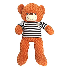 Gấu Bông Teddy Khổ Vải Ichigo Shop (1m) - Cam