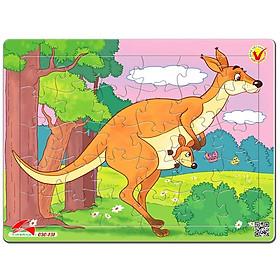Tranh Xếp Hình A4 30 Mảnh - Kangaroo 030-131