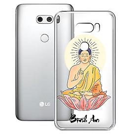 Ốp lưng điện thoại LG V30 - 01253 8039 BINHAN03 - Silicon dẻo - Họa Tiết In Nổi - Silicone Dẻo - Hàng Chính Hãng