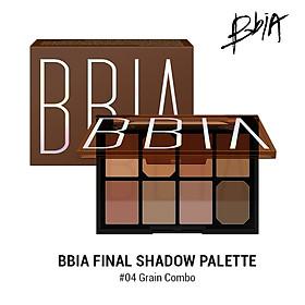 Bảng phán mắt Bbia Final Shadow Palette – #04 Grain Combo