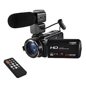 """Máy Quay Cầm Tay Màn Hình Xoay Andoer HDV-Z20 (1080P FHD) (24MP) (16X Zoom) (3.1"""")"""