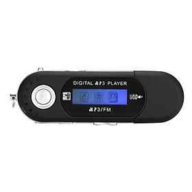 Music Media Player USB MP3 Portable 1.3 Inches Screen Travel Climbing Camping