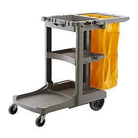 Xe đẩy dọn vệ sinh bằng nhựa GRANDMAID HORECA TRUST mã 5011PL