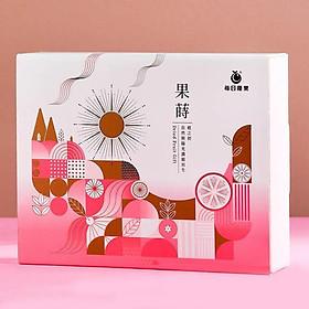 Hộp quà tặng mix trái cây sấy khô Rakuten (Xoài sấy nhóm B / Ổi sấy nhóm C / tổng hợp quả mọng sấy) kèm túi