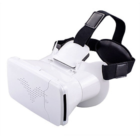 True Fantasy 3 Generation Mobile Phone Vr Glasses White
