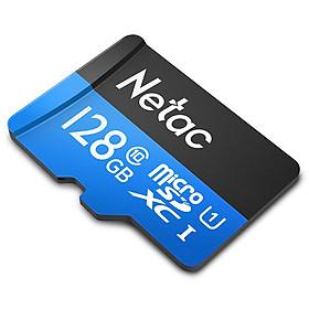 Thẻ nhớ Netac 128Gb Class 10 chuyên camera - Hàng nhập khẩu