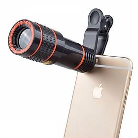 Len zoom 12X cho điện thoại - Ống kính zoom cực xa