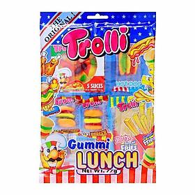 Combo 3 gói Kẹo dẻo Trolli Gummi Lunch 77gr