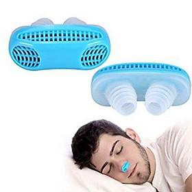 Dụng cụ chống ngáy khi ngủ, lọc không khí đa năng 2 in 1