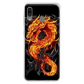 Ốp Lưng Dẻo Cho Điện Thoại Samsung Galaxy A30 - 0218 FIREDRAGON