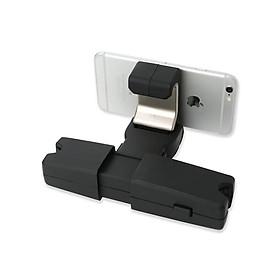 Móc treo đồ sau ghế kiêm giá đỡ cho điện thoại, ipad trên ô tô, xe hơi JT-G08 kích thước: 20,6 x 19,3 x 4,5cm