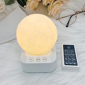 Máy tạo tiếng ồn trắng kèm đèn ngủ điều khiển từ xa model : WN03 Tặng kèm tưa lưỡi silicon
