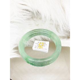 Vòng cẩm thạch xanh đậu Ni 55 kiểm định Ja13339