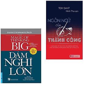 Combo 2 Cuốn Sách Kỹ Năng Kinh Doanh Để Thành Công: Dám Nghĩ Lớn (Tái Bản 2019) + Ngôn Ngữ Của Thành Công / Sách Kỹ Năng Làm Việc - Bài Học Kinh Doanh Của Các Doanh Nghiệp Thành Đạt (Tặng Kèm Bookmark Happy Life)