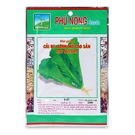 Hạt Giống Cải Bẹ Xanh Mỡ Cao Sản Phú Nông (50g /Gói)