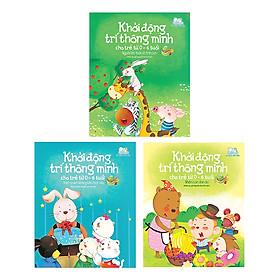 Combo 3 Quyển Bộ Khởi Động Trí Thông Minh Cho Trẻ Từ 0 - 6 Tuổi