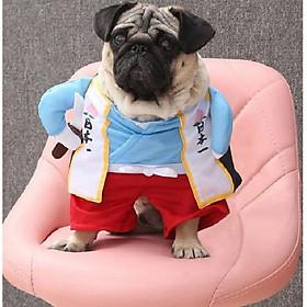 Bộ quần áo Cosplay Samurai dành cho Chó Mèo