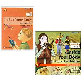Combo All Story - Inside Your Body - Bên Trong Cơ Thể Bạn (Trình Độ 2 - Tập 6) (Bộ 2 Cuốn)