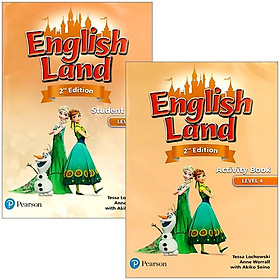 English Land (2nd Edition) Level 4: Student Book + Activity Book With CDs