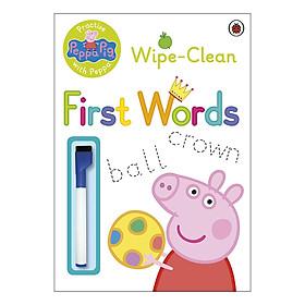 Peppa Pig: Practise with Peppa: Wipe-Clean First Words - Peppa Pig (Paperback)