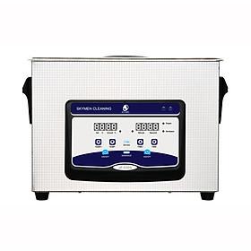 Máy rửa phụ tùng xe máy,  rửa linh kiện điện tử  Skymen JP030S cảm ứng, dung tích 4,5 lít - Hàng Chính Hãng