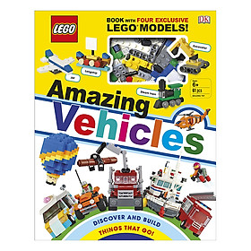 LEGO Amazing Vehicles: Includes Four Exclusive LEGO Mini Models (Hardback)