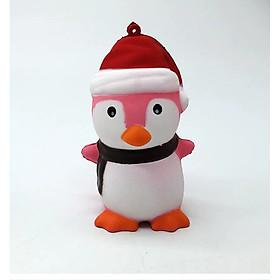 Squishy chim cánh cụt hồng, squishy chậm tăng mùi thơm dịu nhẹ, đồ chơi cho bé trai và bé gái