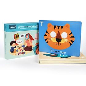 Mideer My 1st Cognitive Cards - Thẻ học đầu tiên của bé chơi được từ 1 đến 6 tuổi MD2065