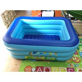 Bể bơi hình chữ nhật 3 tầng đủ kích cỡ