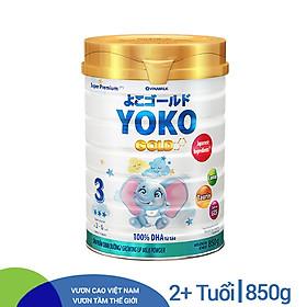 Sữa Bột Vinamilk Gold Yoko 3 850g ̣̣Dành Cho Bé Từ 2 - 6 Tuổi