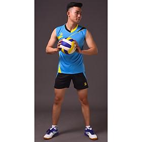 Áo thể thao bóng chuyền nam Hiwing H4-2020 chính hãng màu xanh
