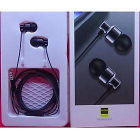 Tai nghe nhét tai dùng cho iPhone, Xiaomi, Samsung, Nokia, OPPO âm thanh siêu trầm (bass headphones) jack cắm 3.5mm Hàng Nhập Khẩu