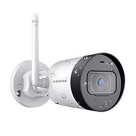 Camera IP Wifi Kbone KN-B41 Ngoài Trời Siêu Nét 4Mp Super HD 1440p - Hàng Chính Hãng
