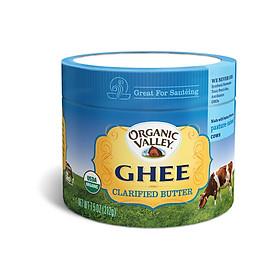 Bơ Ghee hữu cơ  organic Valley 212gr