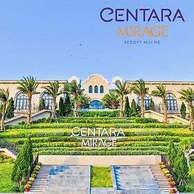 Centara Mirage Resort 5* Mũi Né - Buffet Sáng, Hồ Bơi Công Viên Nước Rộng Lớn, Đối Diện Biển Mũi Né
