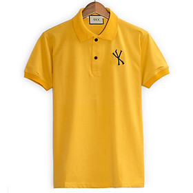 Áo thun nam polo trơn cotton 100% ngắn tay cực sang trọng lịch lãm loại áo thun nam có cổ nam NY