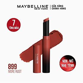 Son Lì Mịn Môi Siêu Nhẹ Cao Cấp Maybelline New York Color Sensational Ultimatte 1.7g